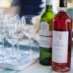 Helen Underhill from @discovervinwines shared some of her favourite French wines including this Chateau la Rayre Bergerac rosé. Perfect with a BBQ on a hot day  it has a bit of extra fruit that gives it body and means it can carry the meat but has no sweetness. For our story on DiscoverVin #clicklinkinbio #wine #frenchwine #rosé #bbqweather #discovervin