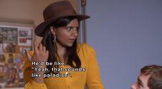 mindiana Jones...so funny Mindy
