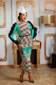 You'll be amazed how gorgeous these Ankara Asoebi styles will change your slay sense and add another dimension to your awesomeness going forward. Ankara Styles For Men, Ankara Gown Styles, Ankara Gowns, Latest Ankara Styles, Ankara Blouse, Ankara Skirt, African Inspired Fashion, African Men Fashion, African Wear