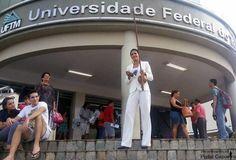Mesa Redonda com Mestre Puma na UFTM abre terceira edição de festival (Foto: Núbia Nogueira/ Arquivo Pessoal)