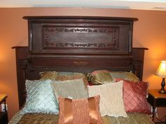 Piano Turned into bed Headboard 3 –Why do pianos get headaches? Because their strings are under so much tension.  While it might not be the most visible of all the ideas we have seen so far it is one of the better ones, because making a headboard out of an old piano doesn't seem that hard and would make for a great feature in a music themed bedroom.   Piano Turned into car 2 –What has 88 keys but no locks?A piano!  Who needs boring old car stereos when you could turn an old piano into…