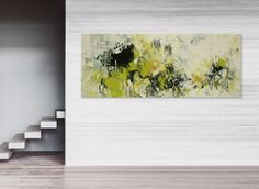 Elena'sArtStudio 60x24  large abstract seascape painting  xxl  palette knife by ElenasArtStudio on Etsy