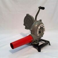 Forge Furnace With Hand Blower Fan Old Style Pedal Handle Blacksmith Hammer, Blacksmith Shop, Blacksmith Projects, Forge Blower, Homemade Forge, Ceramic Fiber Blanket, Propane Forge, Small Stove, Fire Pots