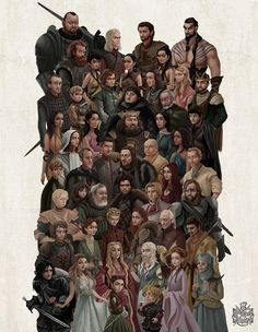 Game Of Thrones Universe. on Behance                                                                                                                                                      More