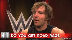 Hot Minute: WWE's Dean Ambrose this was the funniest thing ever gotta love Ambrose