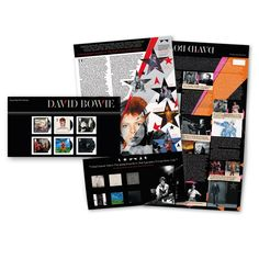 Large image of the David Bowie Presentation Pack