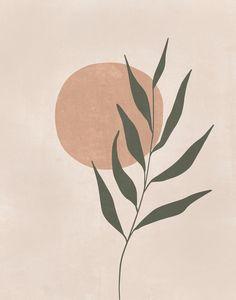 Minimalist Poster, Minimalist Art, Sun Illustration, Boho Aesthetic, Cactus Wall Art, Abstract Line Art, Aesthetic Iphone Wallpaper, Printable Wall Art, Art Drawings