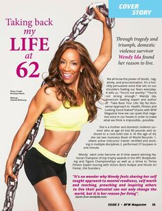 Fifty+, Fit, and Fabulous!!! Wendy Ida (uh......technically, she is Sixty, Fit and Fabulous, but who's counting?)