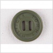28L/18mm Multi-Green Plastic Button