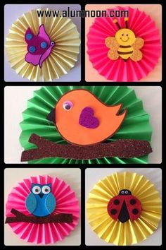 - Spring Crafts For Kids Spring Crafts For Kids, Paper Crafts For Kids, Easter Crafts, Projects For Kids, Fun Crafts, Art For Kids, Diy And Crafts, Arts And Crafts, Art N Craft