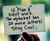 Backup Plan...