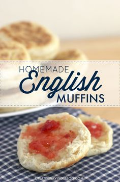 This Homemade English Muffin Recipe is super easy to make, and cost pennies compared to packages in the store. The ultra low price beats even store brands! Whip up a batch or two to freeze, and enjoy yummy English Muffins all month long!