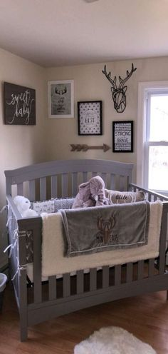 Sensational Baby Boy Nursery Layout Ideas (Images) – Welcome to our baby boy nursery layout suggestions where we have many pictures showcasing boy nursery style ideas. Baby Boy Nursery Themes, Baby Boy Rooms, Baby Boy Nurseries, Baby Cribs, Nursery Ideas, Nursery Layout, Nursery Room, Girl Nursery, Nursery Gray