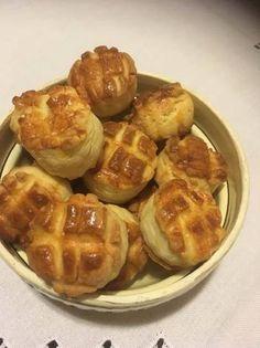 Mennyei pogácsa Waffles, Breakfast, Food, Morning Coffee, Eten, Waffle, Meals, Morning Breakfast, Diet