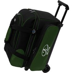 Elite Deuce Green/Black Bowling Bag by Elite. $58.99. Peace of mind. That's what you'll have when you purchase an Elite Bowling Bag. Whether you carry one, two or three bowling balls, Elite Bowling Products has you covered. Made of tough 600-denier polyester oxford construction and welded steel hardware. We designed our bowling bags to not only look great, but to stand the test of time. Now the only thing to worry about is knocking down all ten pins. Two ball bowli...