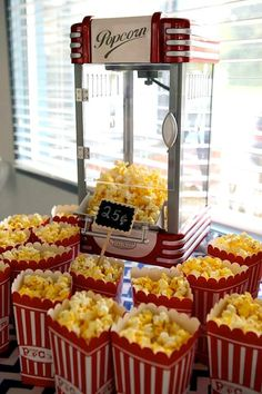 Popcorn Machine Circus Carnival Birthday Party {Planning, Ideas, Decor, Idea, Cake} Our DIY Home Theater Samoas Popcorn 15 Interesting Media Rooms and Circus 1st Birthdays, Carnival Birthday Parties, Circus Birthday, First Birthday Parties, Birthday Party Themes, Dumbo Birthday Party, Birthday Ideas, Cake Birthday, Birthday Tattoo