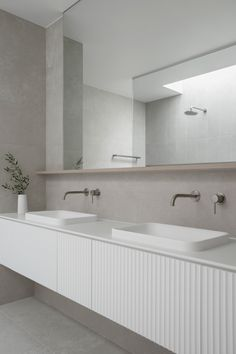 What are Solid Surface Basins and how do you care for them? Home Design, Coastal Powder Room, Inset Basin, Coastal Bathrooms, Bathroom Renos, Washroom, Kitchen Cabinetry, Deco Design, Solid Surface