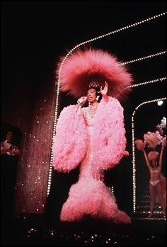 Joesphine Baker Diva Queen at the Lido in Paris, 1973