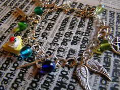 Supernatural Inspired Bracelet by FollowTheGrace on Etsy, €6.50