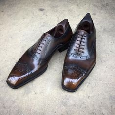 Here at Savile Row, we're starting the week with a... - Gaziano & Girling - Bespoke & Benchmade Footwear