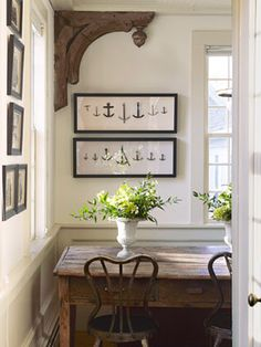 Want to decorate with artwork but don't know how? Surrounding artwork with more artwork - whether similar or different - helps to give a room energy and draw the eye to important pieces.