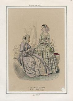 Le Follet November 1842 LAPL