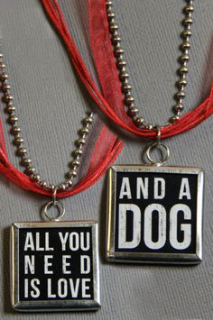 2lisasboutique - Dog Tag - Necklace, $17.00 (http://www.2lisasboutique.com/dog-tag-necklace/)