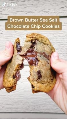 Delicious Cookie Recipes, Fun Baking Recipes, Yummy Cookies, Sweet Recipes, Cooking Recipes, Yummy Food, Dessert Drinks, Dessert Recipes, Sea Salt Chocolate