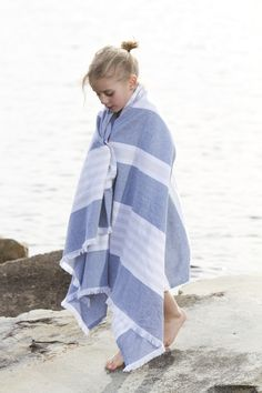 Lulujo turkish towel for the beach.