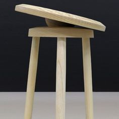 Darryl Agawin's Balance Stool helps the user exercise while they are seated
