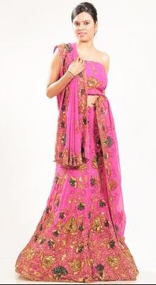 Ethnic Pink Lehenga Choli