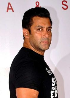 Indian Bollywood actor Salman Khan attendS the launch of the Spa and Salon in Mumbai on April 20, 2012.