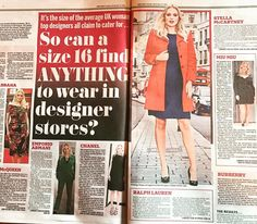 Check out today's copy of the @dailymail to see my struggles on actually finding a designer size 16 outfit! #poppytowers #milkcurve #modernmusenyc #curvemodel #curves #beautybeyondsize #effyourbeautystandards #goldenconfidence #plussize #honormycurves #psbloggers #curvyconfidentcool  #plusisequal #lovetheskinyourin #everyBODYisbeautiful #bodypositive #droptheplus #curvesarein #fitthick