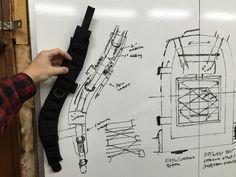Making shoulder straps