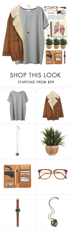 """""""Sing After the Storm"""" by angelloch ❤ liked on Polyvore featuring Wunderkind, Lucky Brand, Lux-Art Silks, Wood Wood, J.Crew, casual and simple"""