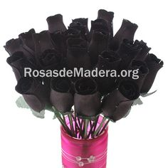 Html, Wooden Flowers, Bouquet Wedding, Black Roses, Colors