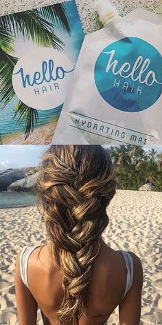 Hydrate your hair with Hello Hair Mask