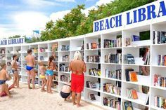 Bulgarian Black Sea coast - free multilingual beach library, which opened in Albena.  The Bulgarian sea resort hosts Europe's first free beach library. To date worldwide exist only two such libraries: in Sydney, Australia and in Odessa, Russia. The beach library contains 2,500 volumes (from capacity of total 4000 books) in ten languages. Available to customers are 2 consultants - librarians.