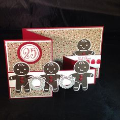 Stampin' Up! Holiday 2016 Cookie Cutter Christmas double Z fold