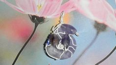 Handmade Jewelry Amethyst Wire wrapped by DeanasQuiltsandMore