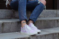 Sneakers femme - Vans pink (©Herzueberkopf)