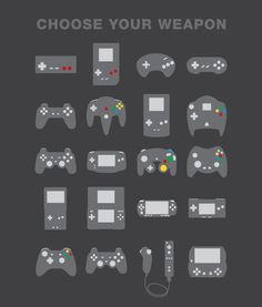 Choose your weapon.. =D