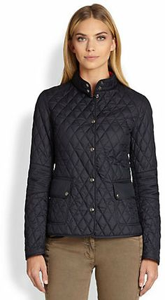 Belstaff Quilted Tech Snap-Front Jacket on shopstyle.com
