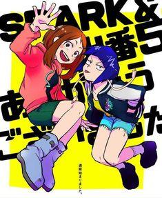 Uraraka Ochako & Jirou Kyouka