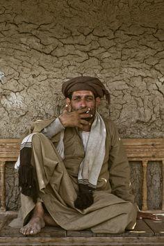 A Villager at Dahab Island