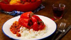 Gefüllte Paprika mit Hackfleisch - BRIGITTE