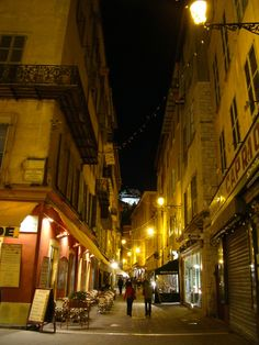 Side street of Nice, France