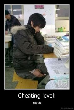 Cheating level: - Expert