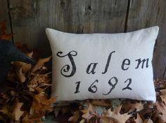 Salem 1692 pillow