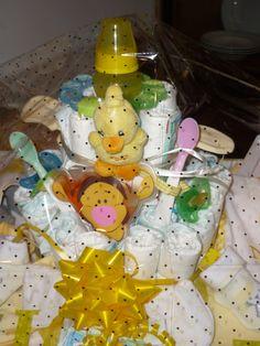 baby shower basket Baby Shower Baskets, Breakfast, Food, Design, Morning Coffee, Design Comics, Meals, Morning Breakfast